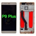 Huawei P9 plus LCD and Touch Screen Assembly with frame [Gold]